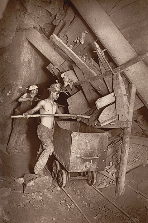A Mill At The 412, Dolcoath Mine